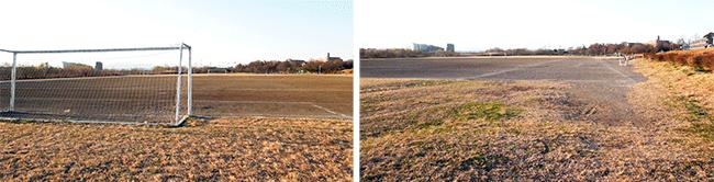 河川敷サッカー場