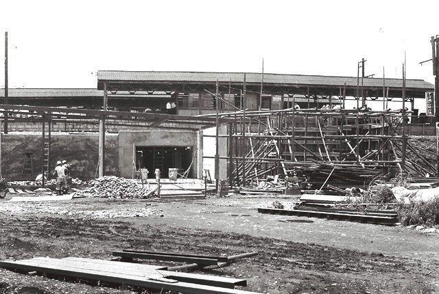 国立駅北口開設工事 1965 昭和40 年頃 くにたち郷土文化館